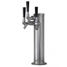 Triple Tap Beer Tower for Kegerator