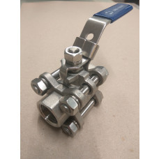 Ball Valve - Three-Piece 1/2""
