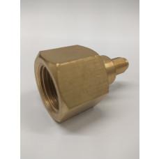 Sodastream adapter for mini keg regulator