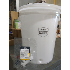 30L Fermenter Tap Airlock and Thermometer (bucket shaped)
