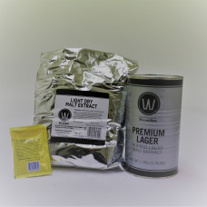Williams Warn Premium Lager 23/25 Litre Kit