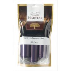 Vintner's Harvest Heat Shrink Capsules - Violet x30