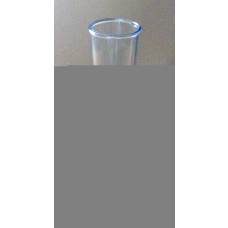 Hydrometer trial jar - 200ml one piece plastic