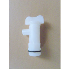 White Tap for plastic fermenter