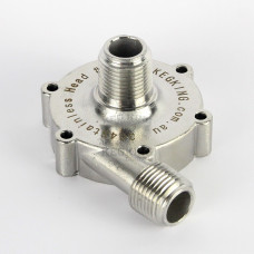 Stainless Pump Head for MKII Magnetic Drive Pump (25W)