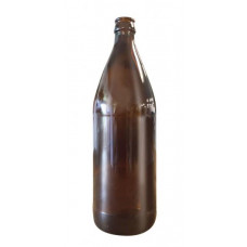 Glass Crown Seal Bottle 750ml Amber - Case of 12