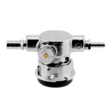 Low Profile Keg Coupler - D Type Stainless with PRV