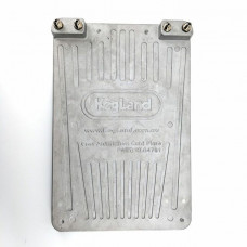 Cast Aluminium Cold Plate - Two Circuit/Lines