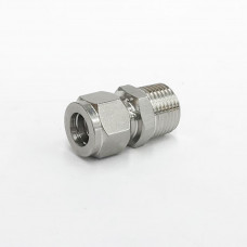"12.7mm Stainless Steel Compression Fitting 1/2"" BSP"