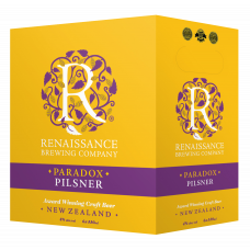 Paradox Pilsner by Renaissance Brewery - 6x330mL Bottles