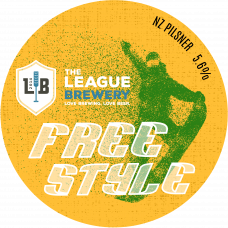 "The League ""Freestyle"" - New Zealand Pilsner - All Grain Kit 23l"