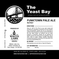 Funktown Pale Ale Liquid Yeast by The Yeast Bay