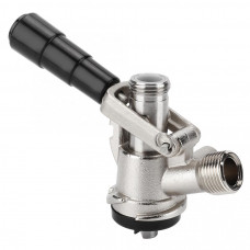 Keg Coupler - D Type Stainless with PRV