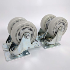 Heavy Duty Castor Wheel Upgrade for Series 4 or Series X Kegerators