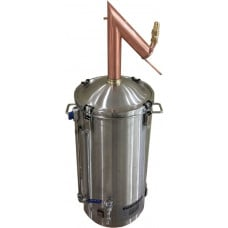 AlcoEngine Copper Pot Still Distilling Distillation Aparatus