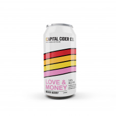Love and Money' Mixed Berry Cider by Capital Cider - 440mL Can