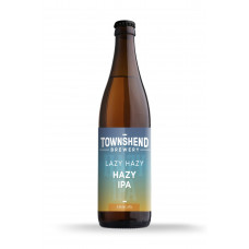 Lazy Hazy IPA by Townshend Brewery - 500ml