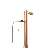 AlcoEngine Copper reflux Still with 13mm Barb Tails Unit