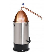 Craft Distilling Kit - Still Spirits Copper Pot Condenser, Alembic Dome & T500 25L Boiler