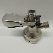 A-type keg coupler (sanke) (stainless steel/alloy)