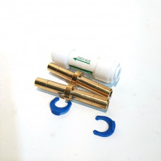 One Way Check Valve (with brass barbs)