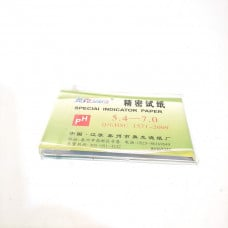pH Strips 5.4-7.0 Litmus Paper Tester Papers - 80 Strips