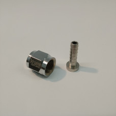 Barbed Swivel Nut - 3/16""
