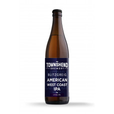 Blitzgrieg West Coast IPA by Townshend Brewery - 500ml