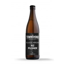 Black Arrow NZ Pilsner by Townshend Brewery - 500ml