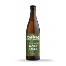 Pouri Lane Pacific Lager by Townshend Brewery - 500ml