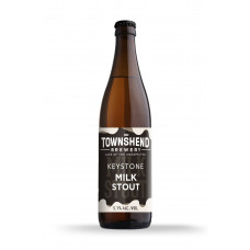 Keystone Milk Stout by Townshend Brewery - 500ml