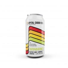Winning' Kaffir Lime, lemon and Juniper Cider by Capital Cider - 440mL Can