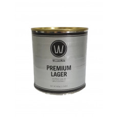 Williams Warn Premium Lager 800g can